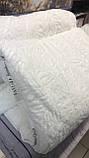 Одеяло Бамбуковое Гипоаллергенное Размер 155*215 см Бежевое Белое  В Чехле Турция Elita, фото 4