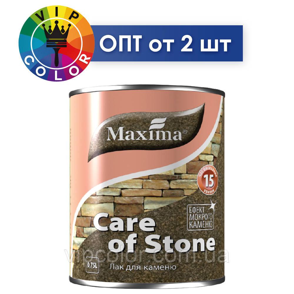 Maxima лак для камня - полуматовый, 2.5 л