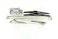 Стеклоочиститель ЗИЛ пневматический СЛ-440 в сборе (с рычаг,тягами,щётками,осями)(арт.СЛ440-5205010)