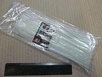 Хомут пластиковый 2.5х200мм. белый 100шт./уп. (арт.DK22-2.5х200WT)