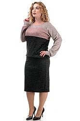 Повсякденний костюм з ангори-софт STYLE чорний