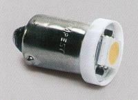 Лампа LED габарит, посветка панели приборов T8-03 (1LED) BA9S тепло белый 24 Volt(арт.tmp-29T8-24V)