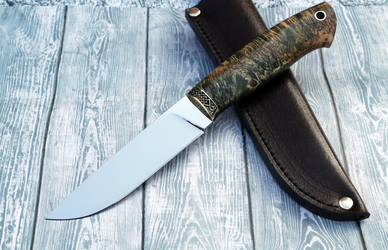"""Нож ручной работы """"Грибник"""" из порошковой стали Ди-90"""