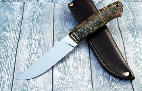 """Нож ручной работы """"Грибник"""" из порошковой стали Ди-90, фото 2"""