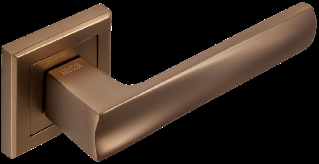 Ручка дверная на розетке Linde A-2010 MCF