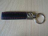 Брелок хлястик Mercedes Benz 110мм черный логотип эмблема Мерседес Бенц автомобильный на авто ключи Уценка №3, фото 3