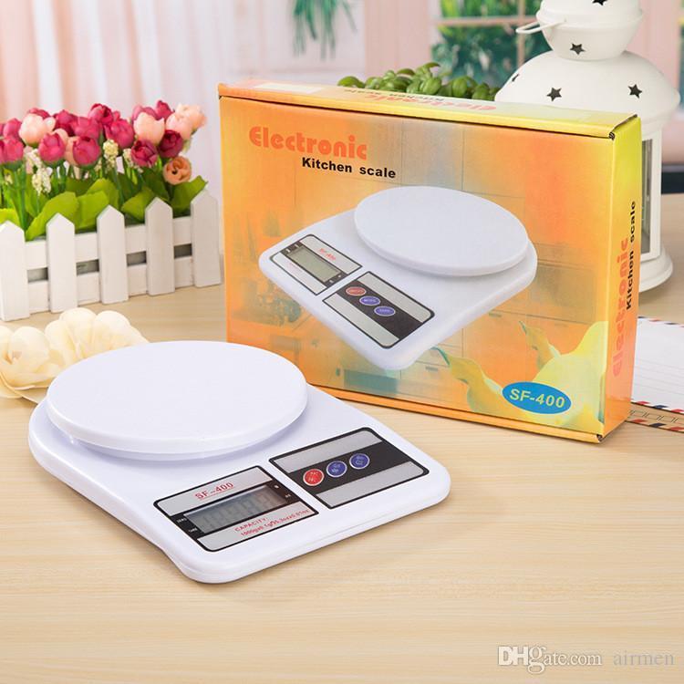 Весы кухонные электронные SF-400 (до 7 кг.) без чаши