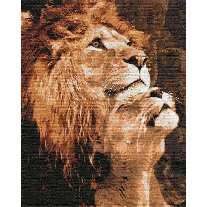 Картина по номерам Большая любовь ТМ Идейка 40 х 50 см КНО4192