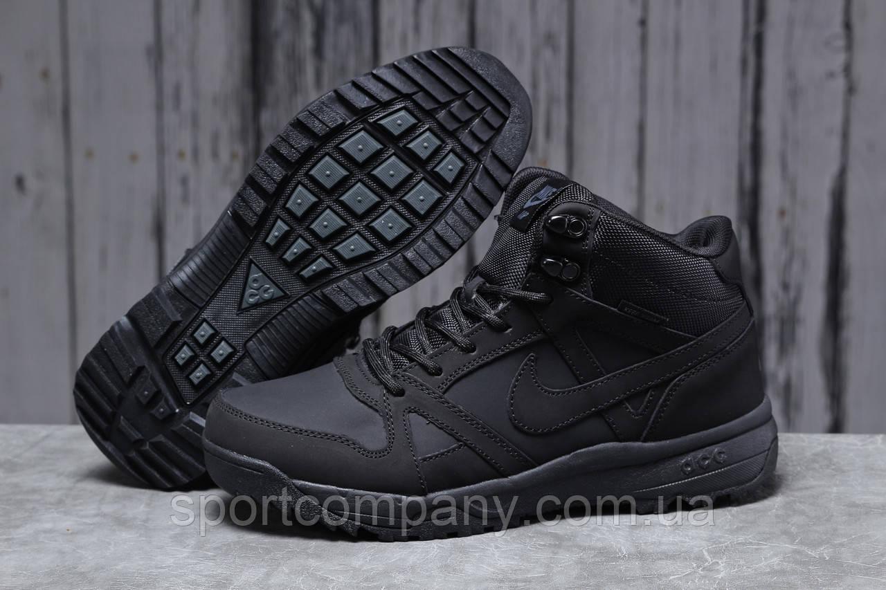 Зимние мужские кроссовки 31701, Nike Air ACG, черные, [ 41 42 43 44 45 ] р. 41-26,3см.