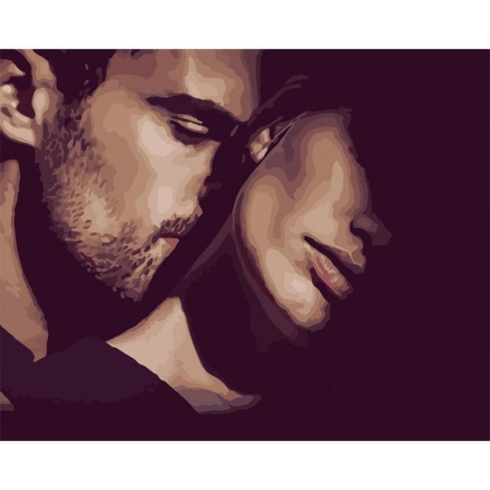 Картина по номерам  Прикосновение любви ТМ Идейка 40 х 50 см КНО4556