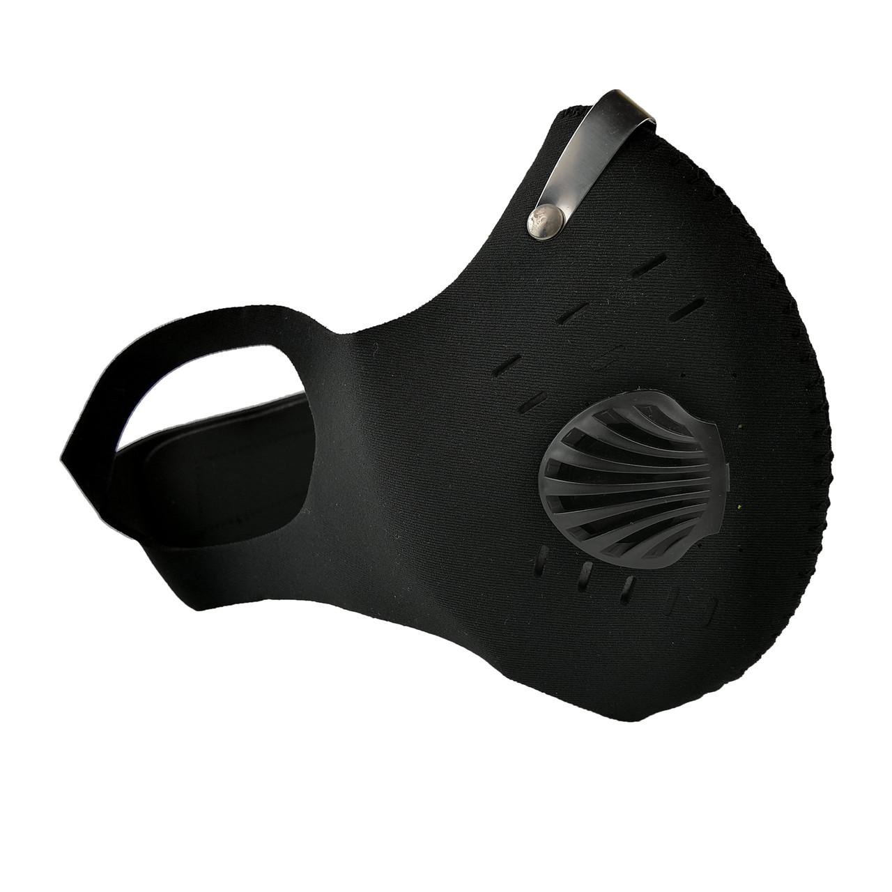 Защитная маска-респиратор с клапаном многоразовая