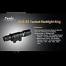 Кріплення на зброю для ліхтарів Fenix Пікатіні  ALG-01, фото 7