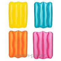 Надувная подушка Bestway 52127, для туризма, плавания, 38х25х5 см, разн. цвета