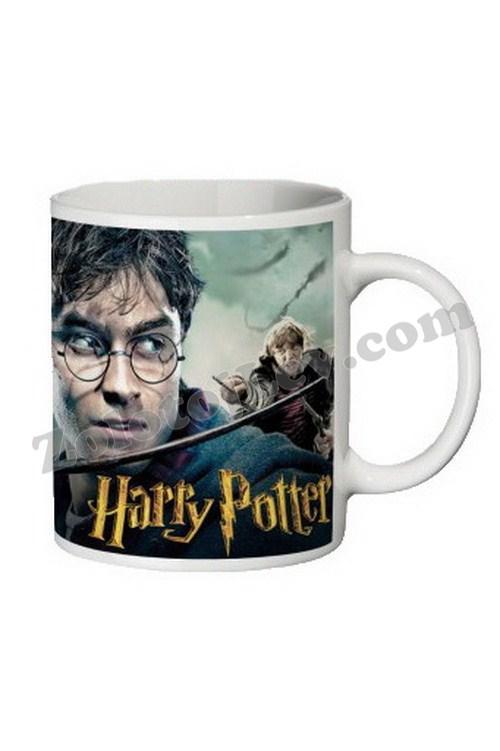 Чашка з принтом Гаррі Поттер