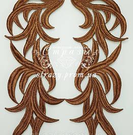 Лейсы коричневые