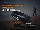 Пов'язка на голову Fenix AFH-10 помаранчева, фото 2