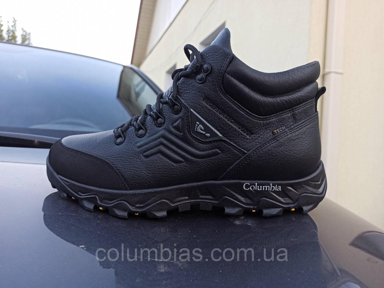 Зимние мужские термо ботинки Columbia gortex 897 TPGD