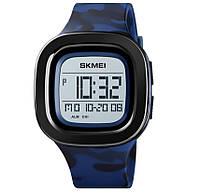 Мужские часы Skmei 1580 Retro style - 3Bar, blue