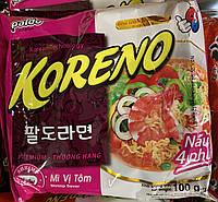 Корейская Лапша Koreno Paldo со вкусом Креветки 100 гр