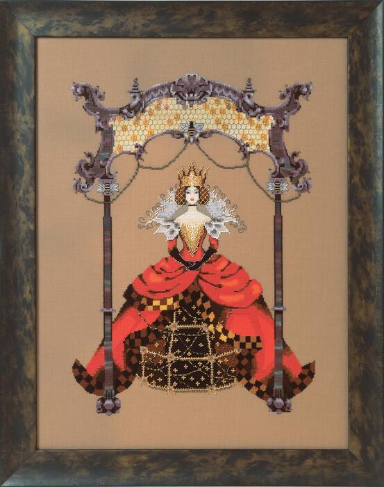 Схема Mirabilia Designs The Queen Bee