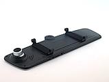 Видеорегистратор-зеркало UKC C33 Vehicle Blackbox DVR на три камеры  5'' + touch FullHD, фото 6
