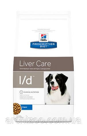 Hill's PD Canine L/D для собак при заболевании печени 2 кг, фото 2