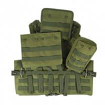 Жилет тактичний військовий HLV A56 Olive, фото 3