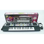 Детский синтезатор пианино MQ-023 FM, 37 клавиш, микрофон, в коробке