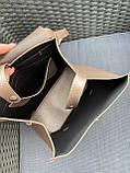 Женский рюкзак кожзам/натуральная замша комбинированный, фото 7