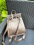 Женский рюкзак кожзам/натуральная замша комбинированный, фото 5