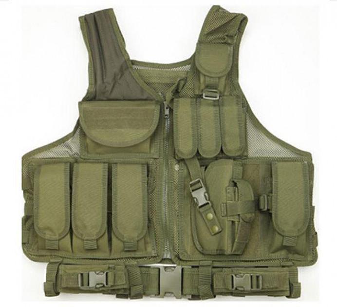 Жилет тактичний військовий HLV A60 Olive
