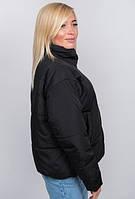 """Модная короткая демисезонная женская куртка больших размеров """"Leslie"""""""