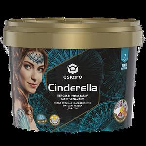 Eskaro Cinderella Акриловая особо стойкая к загрязнениям матовая краска для стен, обоев, стекловолокна