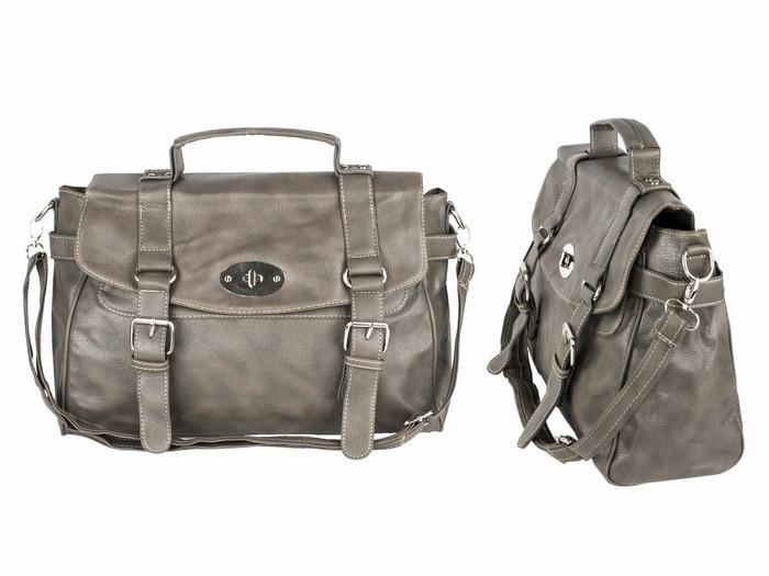 Мужская сумка портфель стильная бежевая