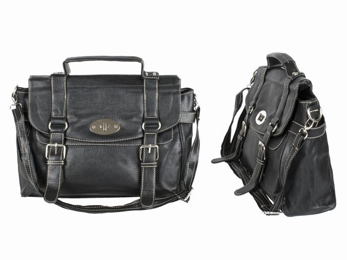 Мужская сумка портфель модная черная