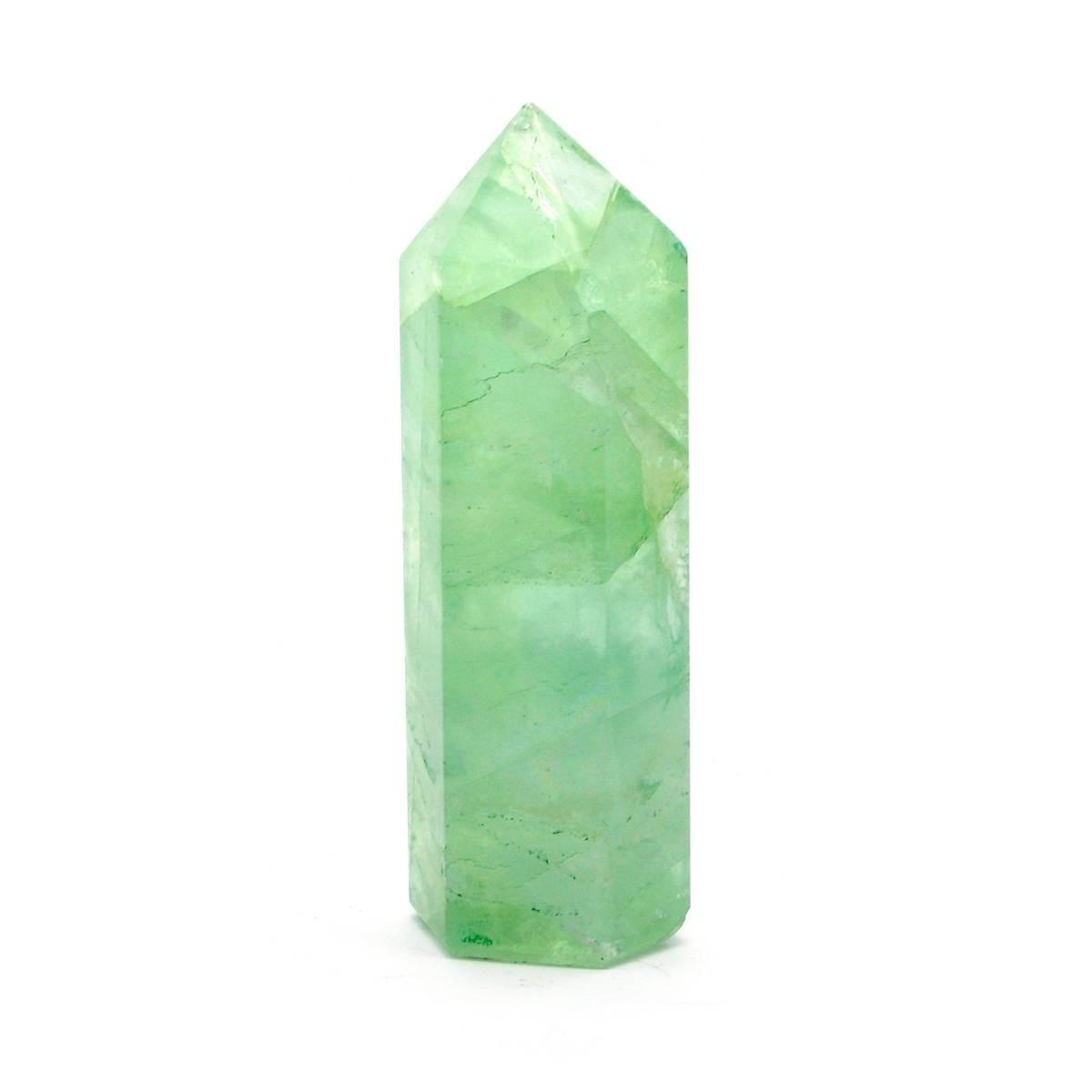 Кристалл кварца зеленый