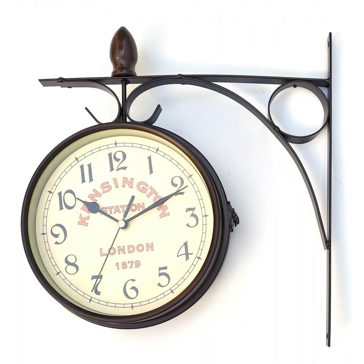 Часы настенные двухсторонние Станционные