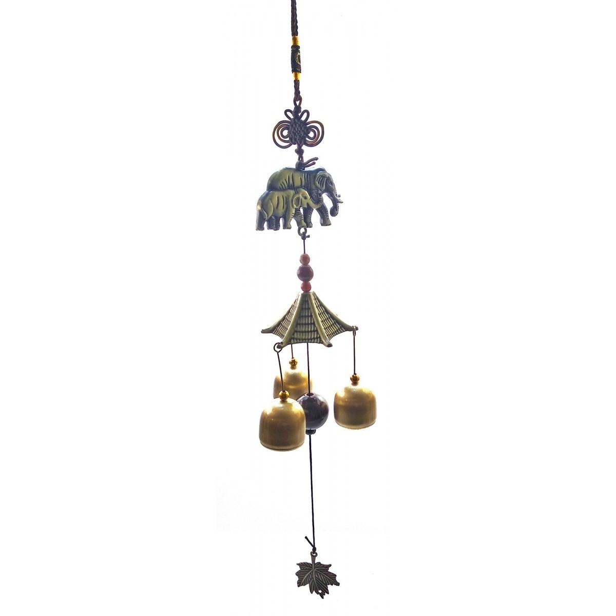 Подвесные колокольчики музыка ветра Слоны
