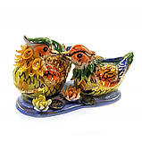 Фигурка Утки мандаринки из фарфора, фото 3
