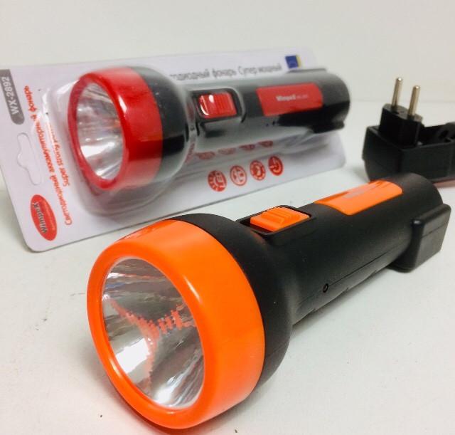 Фонарь аккумуляторный WIMPEX WX-2892 (120 шт/ящ)