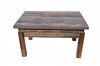 Журнальный стол трансформер Микс Мебель Флай ДСП мангровое дерево/орех