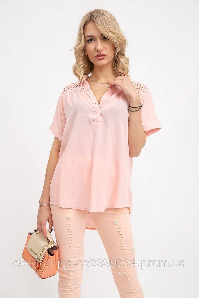 Блуза 131R107781 цвет Персиковый