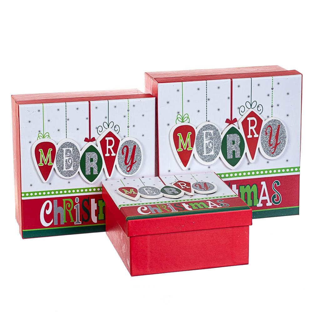 Набор коробок из 3 шт. 20*20*9,5 (8211-037)