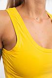 Майка женская 131R0416 цвет Желтый, фото 5