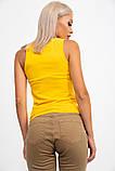 Майка женская 131R0416 цвет Желтый, фото 4