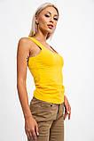 Майка женская 131R0416 цвет Желтый, фото 3