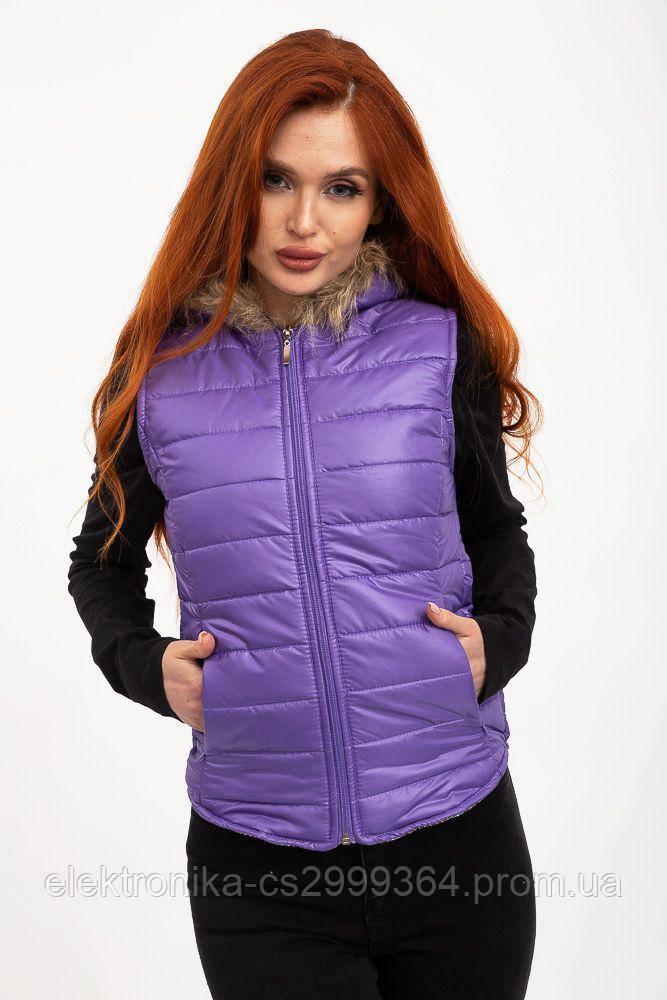 Жилетка женская 131R021 цвет Фиолетовый