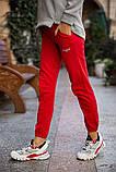 Спорт брюки женские 131R0057-4 цвет Красный, фото 4
