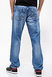 Джинсы мужские 129R8801-3 цвет Синий, фото 4