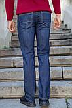 Джинсы мужские 129R2034 цвет Синий, фото 3